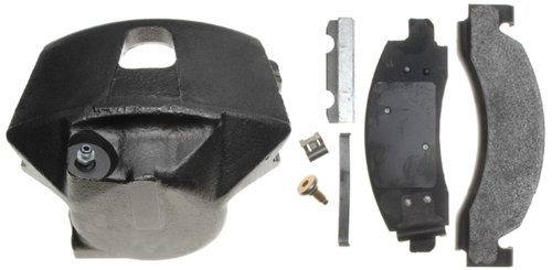 ACDelco 18R651 Professional Rear Passenger Side Disc Brake Caliper Assembly with Pads (Loaded), Remanufactured ()