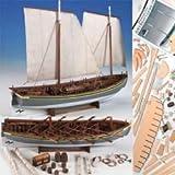 Model Shipways Wood HMS Bounty Launch 1:16 Plank-on-Frame Kit MS1850 - Model Expo