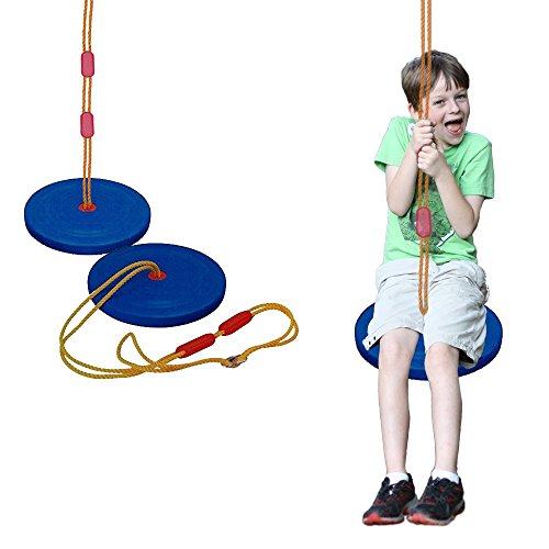 Swing - Classic Style Disc Seat Rope Swing - Manufactured by Toy Cubby! by Toy Cubby