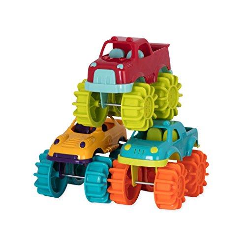 41ta7g0iFKL - Battat Mini Monster Trucks (Set of 6 Different Toy Vehicles)