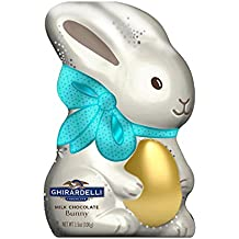 Ghirardelli Hollow Milk Chocolate Bunny, 8 Count (Pack of 8)