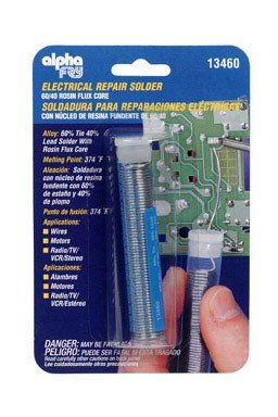 Alpha Metals 13460 .75 oz .050 Electric Solder