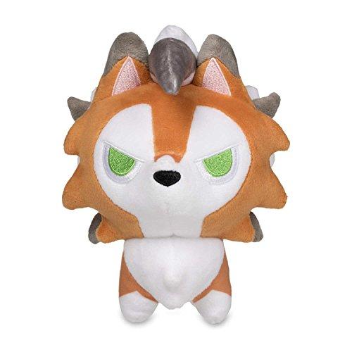 Wanna2017 Lycanroc Dusk Form Plush Doll Stuffed Animal Toy S