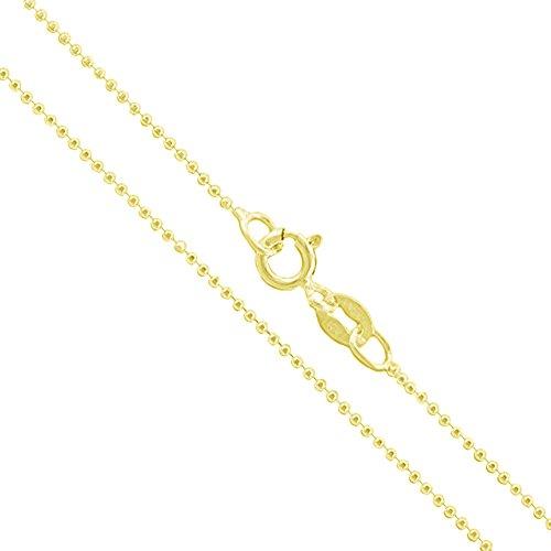 1mm Diamond Cut Bead Chain - 2