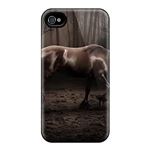 Hard Plastic Iphone 6 Cases Back Covers,hot Horse Alone Cases At Perfect Customized