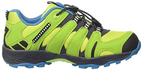 GEKA Fremont, Zapatos de Low Rise Senderismo Para Niños Amarillo (Lemon/marine/petrol Lemon/marine/petrol)