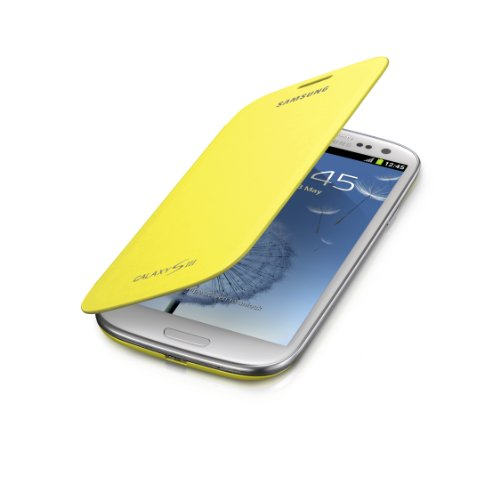 Samsung Galaxy Flip Cover Yellow