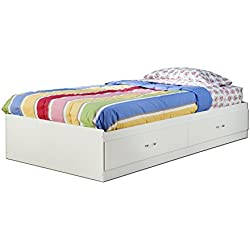 South Shore Logik Twin Mates Bed (39'') With 2 Drawers