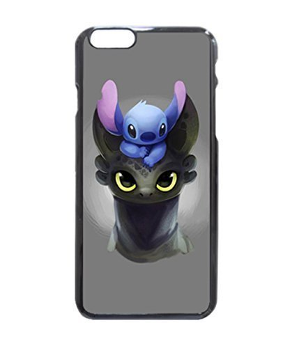 Stitch Toothless Photo Hard Case , Fashion Image Case Diy, Personalized Custom Durable Case For iPhone 6 -4.7