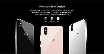 ILA X - Pantalla HD de 5.5 Pulgadas (proporción 18: 9) Smartphone Android 7.0 4G, Bezel-Less 7.95 mm súper Delgado, 1.3GHz Quad Core 3GB + 32GB, 5MP + 13MP, Huella Digital: Amazon.es: Electrónica