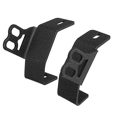 A-Pillar Roll Bar Dual Led Working Pod Lights Mounting Brackets for 2014-2020 Polaris RZR XP 1000 & 2015-2020 RZR 900: Automotive