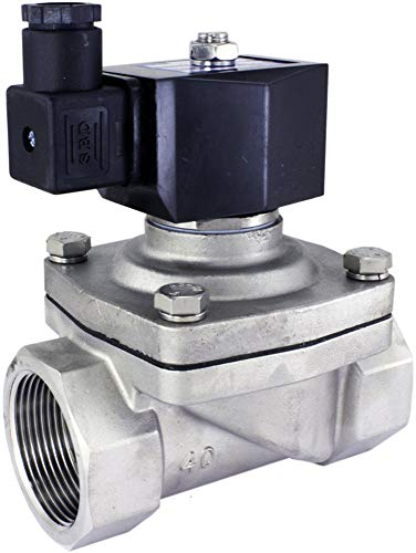 Duda Diesel 2wj40040n 24v 40 Mm 1 1 2 Npt Normally Closed Stainless Steel Viton 2 Way Solenoid Valve Npt Female Connector Stainless Steel On Galleon Philippines