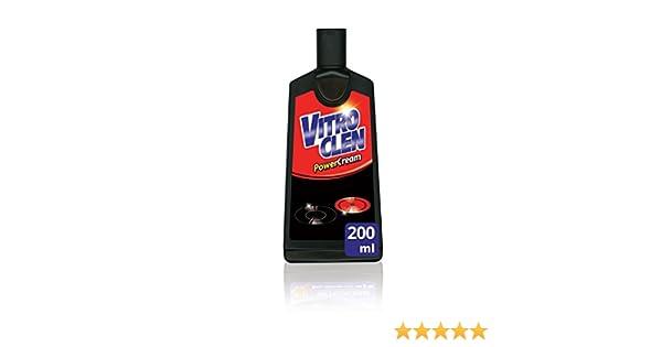 Vitroclen Limpiador Específico Para Placas De Vitrocerámica Crema - 200 ml