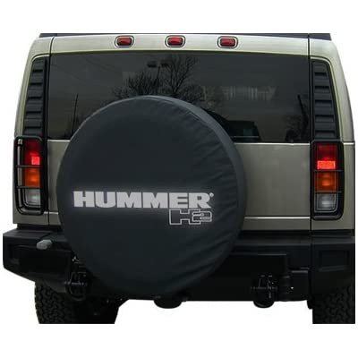 Boomerang 2002-2004 Hummer H2 Soft Tire Cover - Non-Reflective - Genuine GM Licensed: Automotive