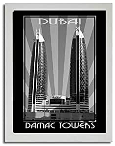 Photo of Damac Tower Black And White F03-M (A3)