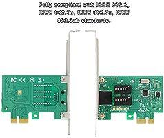 Tarjeta de Red Gigabit PCI-E, 10/100/1000 Mbps, Interfaz RJ-45 ...