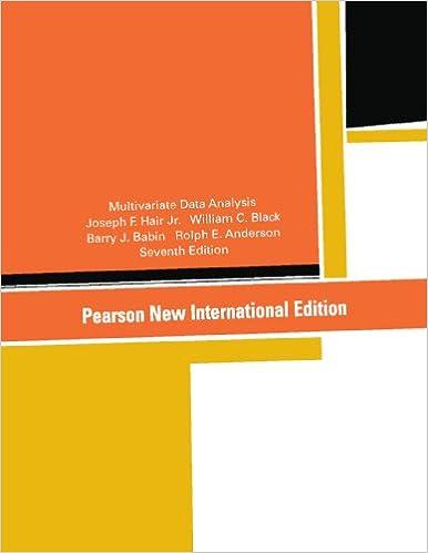 amazon com multivariate data analysis pearson new international