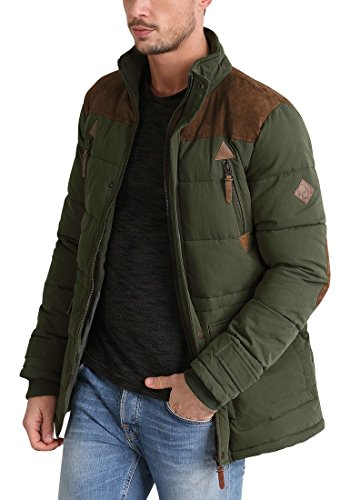 Invernale Giacca Long Jacket 3797 Ivy Dry Green Solid Uomo Da 6ORwIWq