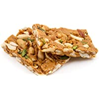 Sahu Gajak Bhandar Roasted Peanuts Chikki 600 gm ( 9 to 10 Pcs in Each Box)
