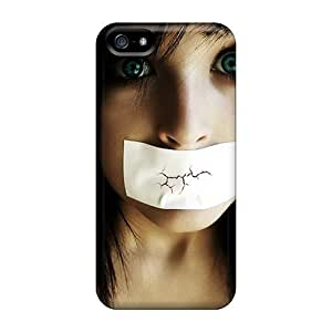 Fashion Protective Silent Case Cover For Iphone 5/5s