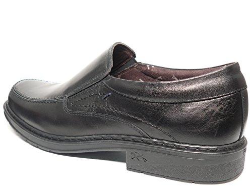 Zapatos hombre tipo mocasín FLUCHOS - Piel color Negro - 9483 - 80 negro