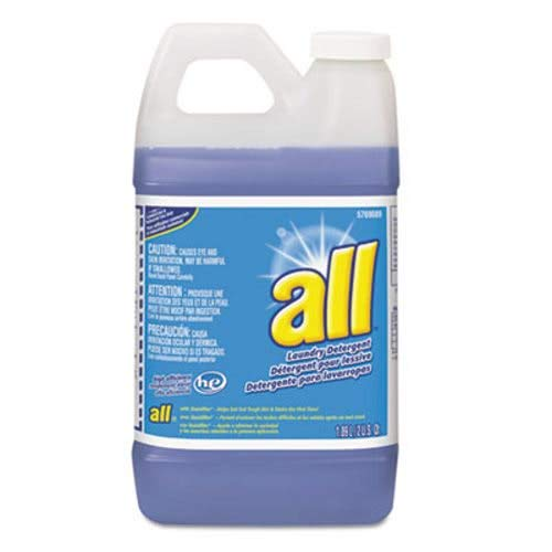 All 95769089 HE Liquid Laundry Detergent, Original Scent, 64 oz. Bottle (Case of 4) by All