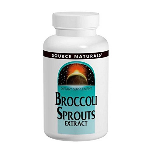 Broccoli Sprouts, 60 Tabs by Source Naturals (Pack of (Broccoli Sprouts 60 Tabs)