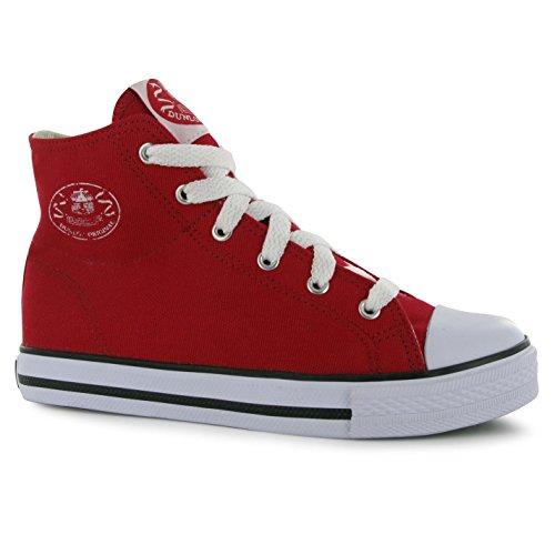 Dunlop - Zapatillas para niño Negro negro Red - Red