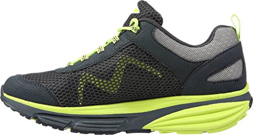 MBT Männer Colorado 17 Charcoal Grey / Neon Lime Synthetik / Mesh Charcoal Grey / Neon Lime Synthetik / Mesh