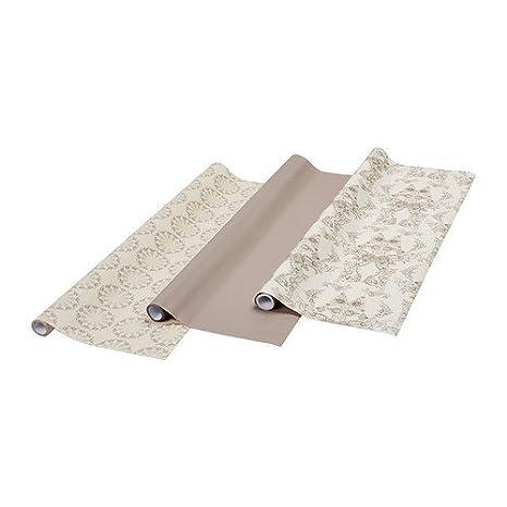Ikea Historisk Rotolo Di Carta Regalo Grigio Chiaro 2f Confezione