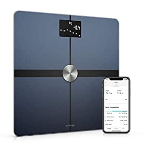 Withings/Body+ - Smart Body Composition Wi-Fi Digital Scale with smartphone app - WBS05