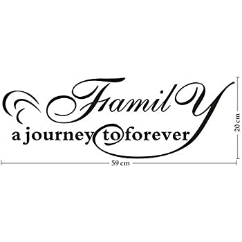com home family a journey to forever vinyl wall