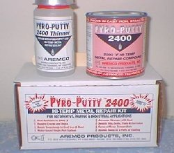 Liquid Glues & Cements Charitable Alvin 14 Oz Lab Metal Repair And Patching Compound Withstands Temps Up To 1000f