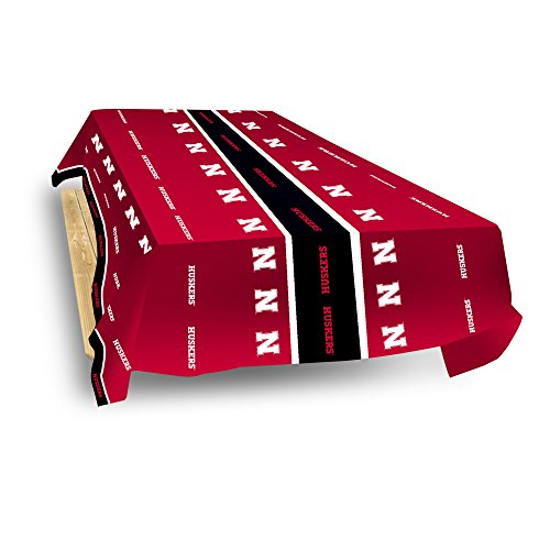 Rico Industries NCAA Nebraska Cornhuskers 8-Foot Table Cover ()