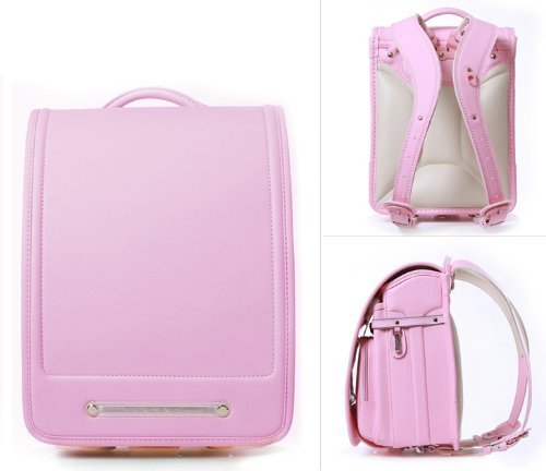 Randoseru A4 Clear file fits for this bag Color Light Pink school bag