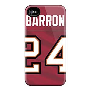 Iphone High Quality Tpu Case/ Tampa Bay Buccaneers Isy7764Eedc Case Cover For Iphone 4/4s