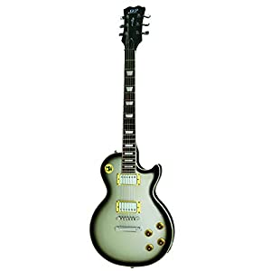 SKP 800LP Electric Guitar – 22 Frets – Silver Sunburst 41taFo0uVTL