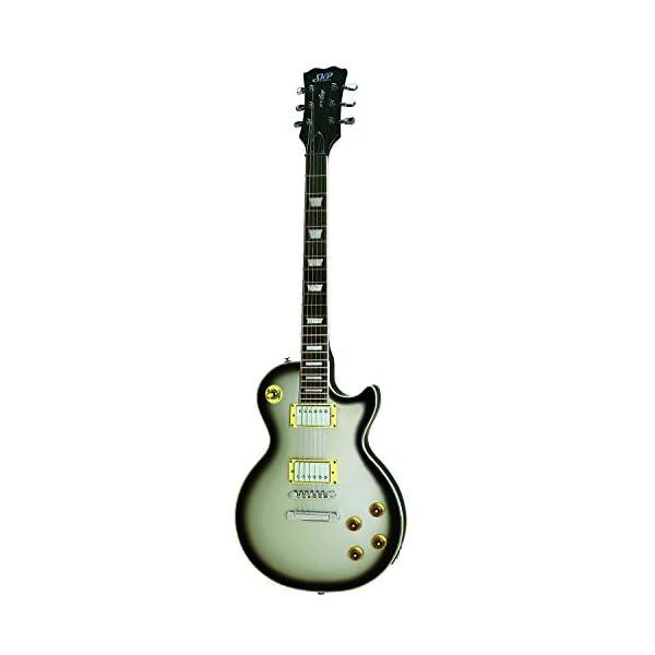 SKP 800LP Electric Guitar – 22 Frets – Silver Sunburst 41taFo0uVTL