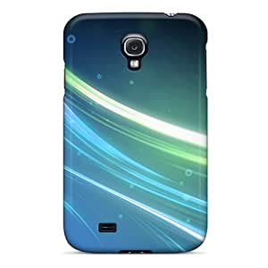 ShirleyZelaya Galaxy S4 Well-designed Hard Case Cover Blue Lines Protector
