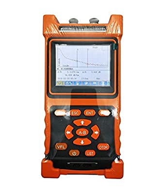 OTDR, FTTH Fiber Optic Cable Tester, Fiber Cable Test Equipment, FTTx Network, Mini-OTDR, SM 1310-1550nm-28/26dB, NK2000