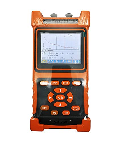 OTDR, FTTH Fiber Optic Cable Tester, Fiber Cable Test Equipment, FTTx Network, Mini-OTDR, SM 1310-1550nm-28/26dB, NK2000
