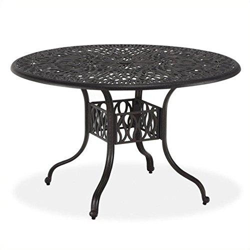 wrought iron patio table - 9