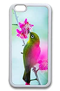 Bird In The Tree Slim Soft Cover for iPhone 6 Case (4.7 inch) TPU Black