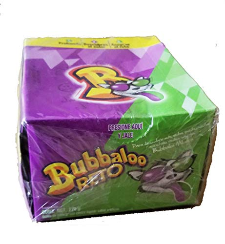 Adams Bubbaloo Chewing Gum Reto. Challege Gum:Discover the flavor of the gum. 1 Box (50 count).