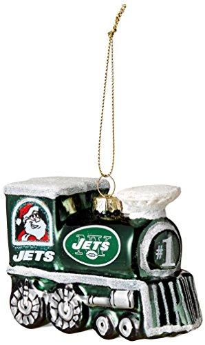 NFL New York Jets Train Ornament
