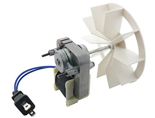Nutone 97012041 Broan Replacement Vent Fan Motor & Blower Wheel, 9 Amp/120V