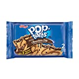 Kellogg's Pop-Tarts, Chocolate Chip, 3.67 Ounce (Pack of 72)