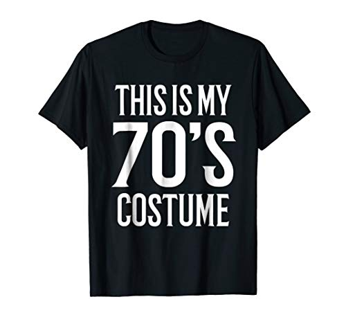 70s Costume Shirt 1970s Theme Halloween Party Idea 70s Night