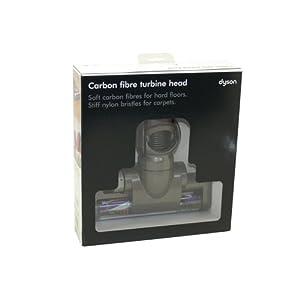 dyson dc26 dc26i dc28 carbon fibre turbine head genuine part number 92497701 924977 01 amazon. Black Bedroom Furniture Sets. Home Design Ideas