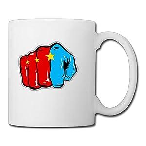 Christina Pound For Pound Manny Pacquiao Game Logo Ceramic Coffee Mug Tea Cup White